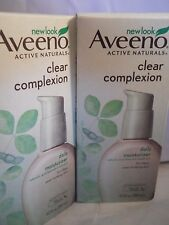Aveeno Active Naturals Clear Complexion Daily Moisturizer 4.OZ (2pk) exp 10-2018