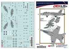 1/72 F/A-18 Hornet - RAAF 3 SQN A21-3 Decal DEKL's II