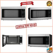 LG  2.0 Cu Ft Kitchen Counter Top Microwave Oven  LED Display Stainless-Steel