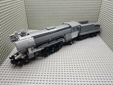LEGO® Eisenbahn Emerald Night Express Dampflok Nachbau 10194 in grau MOC