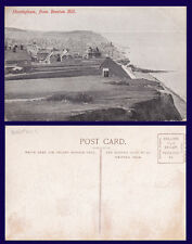 UK NORFOLK SHERINGHAM FROM BEESTON HILL DIVIDED BACK POSTCARD CIRCA 1905