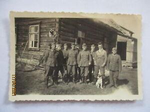 Rußland 1941 ,Lazarett Feldlazarett, Rojo Cruz Bandera, Foto (30321)