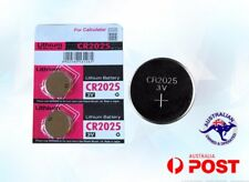 CR2025 x 2 3V Lithium coin Button battery Brand New Sealed cr2025 long expiry