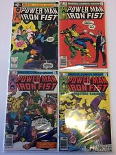 Power Man #67 68 69 70 Comic Book Set Lot Marvel 1980