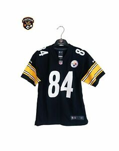 Perfect Pittsburgh Steelers NFL Football Jersey (M Youths)#84 Antonio Brown Nike