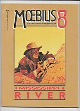 Moebius 8 Mississippi River 1991 Epic Marvel SC GN Heavy Metal Art FN 0871357151