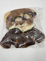 Duffy Walt Disney Parks Bear Aviator Pilot Goggles Bomber Jacket Costume Outfit