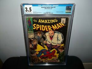 AMAZING SPIDER-MAN #51 CGC 3.5 First 1st Kingpin Cover/ 2nd App 1967!!!