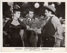 JOANNE DRU & AUDIE MURPHY 1959 western THE WILD & THE INNOCENT Vintage Photo