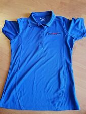 DAVID BARTON GYM WOMENS POLO STYLE SHIRT SZ S BY SPORT TEK