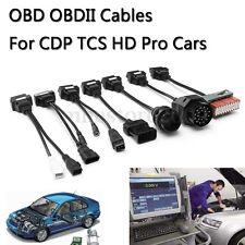 8Pcs OBD OBDII Adapter Cable Car Fault Diagnostic Tool For CDP TCS HD Pro Cars