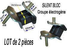 groupe électrogene Pièce lot de 2 silent bloc Silentbloc Silent-bloc lot de 2