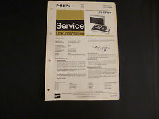 Original Service Manual Philips  22 GF 504