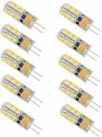 MINGER G4 LED Lights Bulb 2.5W AC/DC 12V Lighting Bulbs - 2 x 10 pack