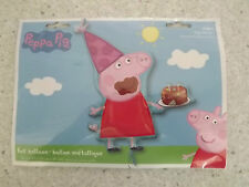 PEPPA PIG  BIRTHDAY CAKE XL FOIL BALLOON 33 IN 83CM  PARTY HAPPY