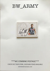 SELECT 2019 AFL SUPREMACY NORM SMITH MEDALLIST SIGNATURE NATHAN BUCKLEY 32/55