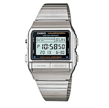Casio Classic DB380-1DF Silver Stainless Steel Watch