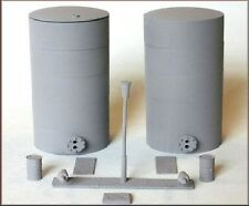 Knightwing PM135 Oil/Liquid/Powder Silos and accessory 00 Gauge Plastic Kit TL48