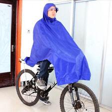 Blue Cycling Rainproof Raincoat High Quality Bike Bicycle Poncho Rain Cape Gear