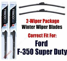 WINTER Wiper Blades 2-pack fits 2009+ Ford F-350 Super Duty - 35220x2
