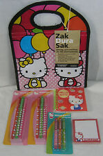 Hello Kitty Pens Lunch Sack Journal Sticky Notes Nice Gift Free Usa Shipping