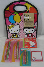 Hello Kitty Pens Lunch Sack Journal Sticky Notes VALENTINE FREE USA SHIPPING
