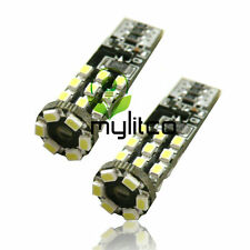Super bright led blanc xenon éclairage latéral remplacement ampoules 501 W5W T10 Canbus l57b