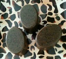 "3 - Organic ACNE Face & Body Cleansers Charcoal Neem Oil Tea Tree ""CLEAN SLATE-X"