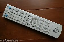 GENUINE LG DVD Recorder System  Remote Control 6711R1P109G