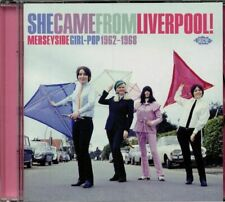 VARIOUS - She Came From Liverpool: Merseyside Girl Pop 1962-1968 - CD