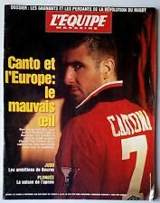 L'Equipe Magazine 21/09/1996; Cantona/ Bouras/ Monaco Week Classic