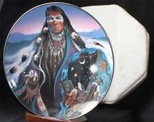 Vintage Royal Doulton England Crystal Enchanter by Frizzell Decorative Plate
