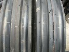 ONE 11.00x16,1100x16,11.00-16 DEERE FORD Ten Ply 3 Rib Tractor Tire w/Tube