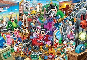 2000 piece jigsaw puzzle Disney Mickey?fs movie studio tight series (51x73.5cm)