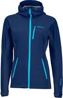 Marmot Women's Rom Jacket, Windstopper-Kapuzen-Softshell für Damen, arctic navy