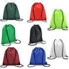 School Drawstring Book Bag Sport Gym Swiming PE Dance Shoe Backpack Travel Pouch