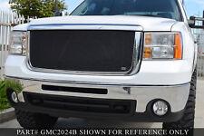 Grille-MX Upper Insert GRILLCRAFT GMC2032B fits 11-14 GMC Sierra 2500 HD