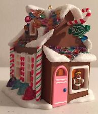 Sweet Shop 2006  Hallmark Christmas Ornament QX2456 First in Noelville Series