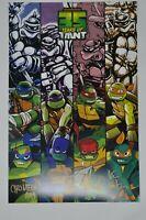 SDCC 2019 Nickelodeon Teenage Mutant Ninja Turtles TMNT Poster Signed Autograph