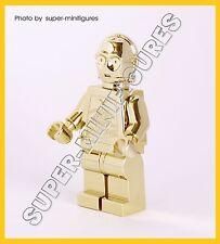 Lego C-3po gold chrome star wars minifigure  (lego custom)