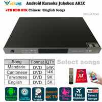 4TB HDD 87K Chinese,English Songs,Android Cloud Karaoke Player/Jukebox,YOUTUBÊ