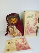 "Vintage 14"" Raikes Original Sherwood Forest Bear  Robert Raikes 1461/5000 1986"