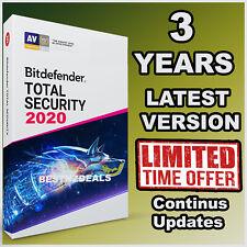BITDEFENDER TOTAL SECURITY 2020 - 3 YEARS ACTIVATION - DOWNLOAD