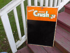 Orange Crush Soda Chalkboard Menu Sign