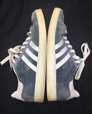 Adidas Campus Originals Grey Mens Size 12 White Stripes Shoes Sneakers