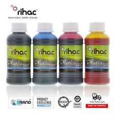 Rihac 4 x 100ml Refill Inks to suit Epson Printers 252 252XL & 254XL WF 7610