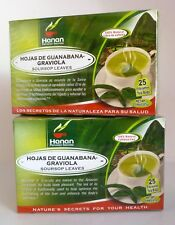 50 Tea Bags Hoja de Guanabana (Soursop Leaves Tea Bags)