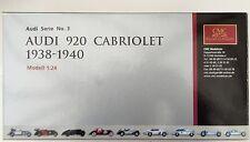 Cmc audi 920, cabriolet 1938-1940 M-032 (top haut)