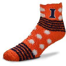 Illinois Fighting Illini NCAA  For Bare Feet Homegator orange Fuzzy Socks