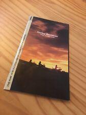 Harley Davidson 1998 moto prospectus brochure prospekt dépliant English